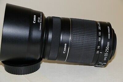 Canon EF-S 55-250mm f/4-5.6 II IS lens. In very good condition.
