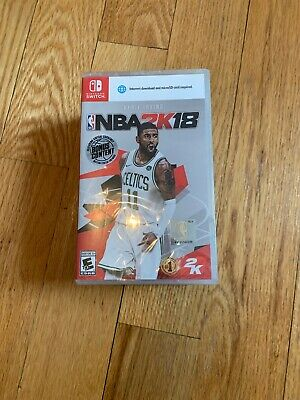 NBA 2K18 Nintendo Switch Game BRAND NEW!   SHIPS FAST!!!