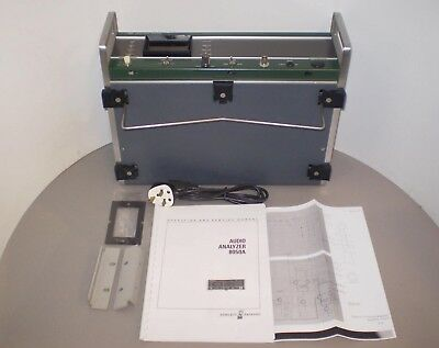 Rare working ALTEC LANSING HEWLETT PACKARD HP 8050A AUDIO ANALYZER & HP manual