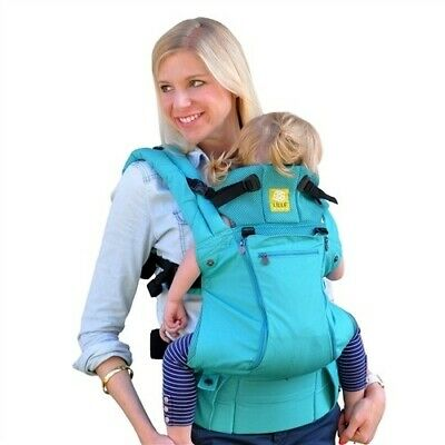 lillebaby® COMPLETE™ ALL SEASONS Baby Carrier in Caribbean Sea - Pre Owned