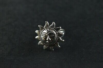 Vintage Sterling Silver Fun Ring - 6g