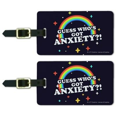 Guess Who/'s Got Anxiety Rainbow Funny Humor Bicycle Handlebar Bike Bell
