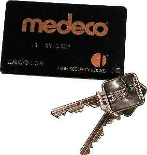 Medeco Biaxial Key By Card Code