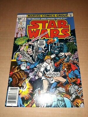 1977 Marvel Star Wars Comic #2
