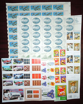 US USA MINT POSTAGE in Sheets & Blocks Face Value $50 Lot P