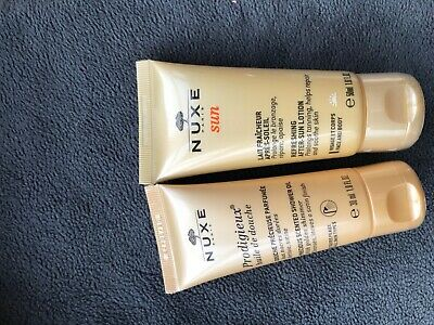 30ml Nuxe shower oil 30ml Nuxe after sun 50ml new