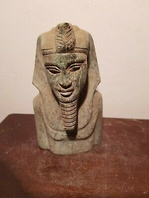 Rare Antique Ancient Egyptian Statue King Akhenaten 1st worship 1 God 353–1336BC