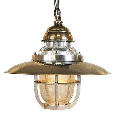 G312: Historic Steamboat Lamp, Nostalgia Ceiling Light, Marine Hanging Lamp