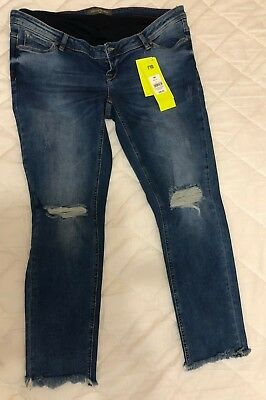 5747287ad2315 Mothercare Maternity Jeans   Size: 18R 31