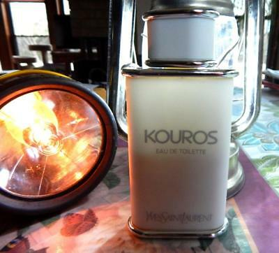 516144136921 Pre-Owned Yves Saint Laurent Kouros EDT Splash 3.3 Oz 100 ML Now 1.6 Oz