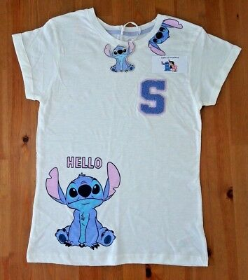 Primark Disney Stitch Lilo   Stitch T shirt Top Pyjamas Pajamas Ladies NEW c2ca22a5a