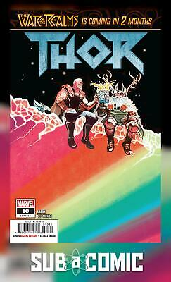 THOR #10 (MARVEL 2019 1st Print) COMIC