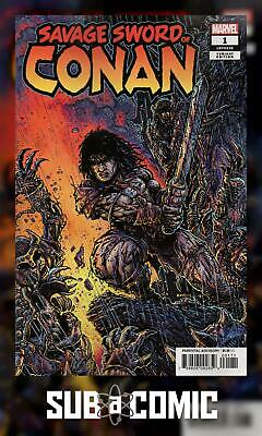 SAVAGE SWORD OF CONAN #1 EASTMAN 1:25 VARIANT (MARVEL 2019 1st Print) COMIC