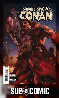 SAVAGE SWORD OF CONAN #1 RAHZZAH 1:25 VARIANT (MARVEL 2019 1st Print) COMIC
