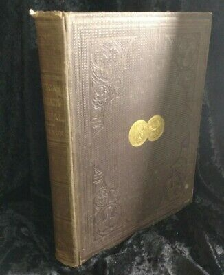 The American Numismatic Manual 1865 Third Ed Very Rare! Coins Color Plates