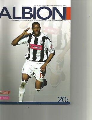 West Bromwich Albion v  CARDIFF CITY Programme 2007