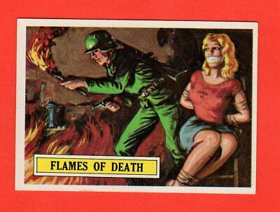1965 Topps Battle # 52  Flames of Death  nrmnt