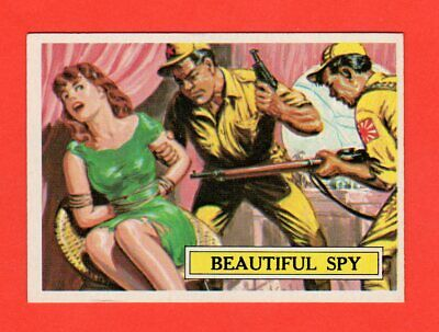 1965 Topps Battle # 53  Beautiful Spy  nrmnt