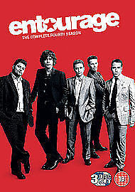 ENTOURAGE SEASON 4 - NEW & sealed - HBO - DVD box set