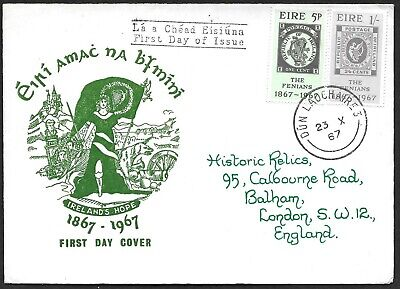1967    FDC          FENIANS D        Illustrated