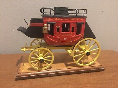 2017 NEW! WELLS FARGO OVERLAND STAGECOACH U.S. MAIL By Oscar M. Cortes- Signed.