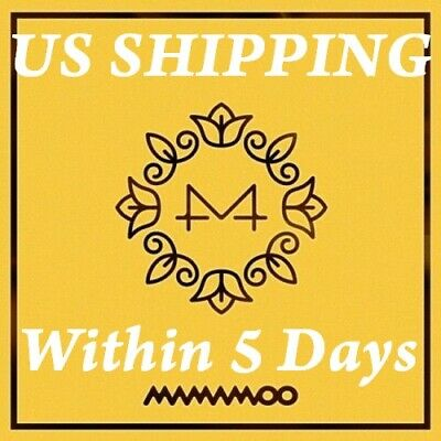 US SHIPPING Mamamoo-[Yellow Flower] 6th Mini Album CD+Poster+Booklet+Card+Gift