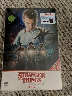 Stranger Things Season 1 Target Exclusive 4 Disc 4K UHD + Blu-Ray New Sealed