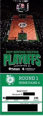 BOSTON CELTICS v CHICAGO BULLS PHANTOM ROUND 1 GAME 7 TICKET STUB 4/30/2017 @ TD