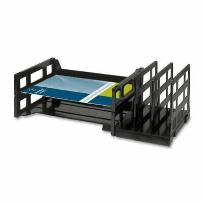 Business Source Combo 2-Tray Vertical Organizer 62882