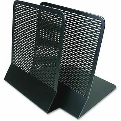 Artistic (2) Urban Collection Punched Metal Bookends (Pair), Black ART20008
