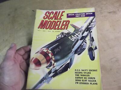 SCALE MODELER Magazine-First Issue-Special Collector Edition-Dec 1965