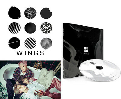 BTS Vol 2 BANGTAN BOYS KPOP 2nd Album WINGS [ I Version ] CD+Photobook+Photocard