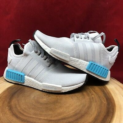 new arrival d6d44 b56df Adidas NMD Bright Cyan R1 Nomad Women Size 5 S80207 3M Boost Ultraboost  Yeezy