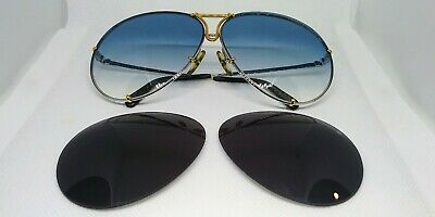 d45b21d22f1 Vintage Porsche Design Carrera Sunglasses 5623 77 Gold silver - Medium.