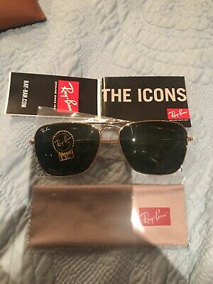 cbeedb4dcc AUTHENTIC RAY BAN 0RB3605N 909613 SILVER GOLD Sunglasses -  159.99 ...