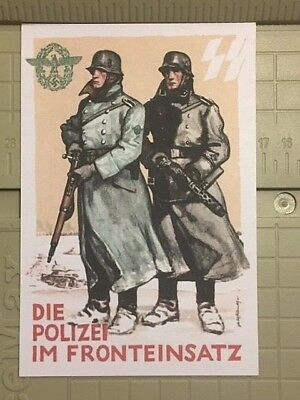 REICH/ NAZI/ WW2 - SALE LOT FINAL! Buy any 2 REPRO Postcards get 3rd Free! 1a