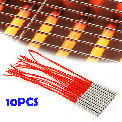 10 PC 9.5X80mm AC110V 300W Cartridge Mold Heating element heater Tube Insulation