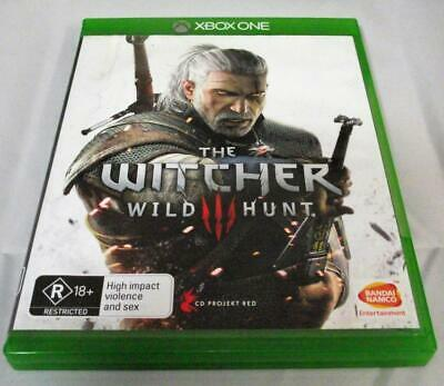 The Witcher Wild Hunt Microsoft Xbox One *Complete*
