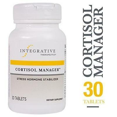 CORTISOL MANAGER | Integrative Therapeutics | Stress Hormone Stabilizer | 30 Tbs