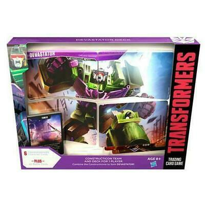 Transformers TCG Rise of the Combiners Devastator Deck Set ~ Preorder Ships 3/29