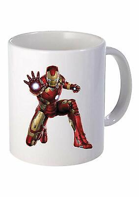 Iron Man  11 Oz Ceramic Travel Mug Home Tea Coffee Cup For Gifts