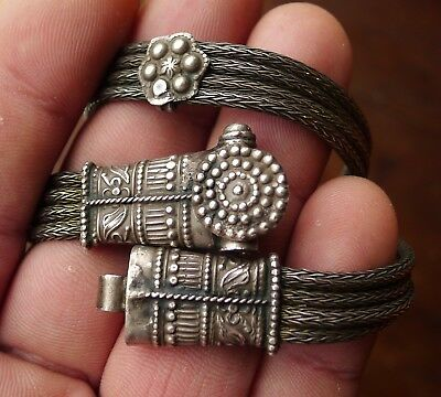 Collier Inde Argent Ancien Ethnique Antique Indian Silver Ethnic Tribal Necklace