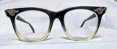 4bf641b3eb VINTAGE FRAMES 60s American optical AO Safety glasses eyeglasses USA ...
