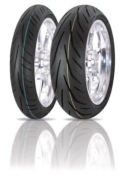 For Honda VFR 800 F 1998-01 Avon 3D Storm X-M Rear Tyre (180/55 ZR17) 73W
