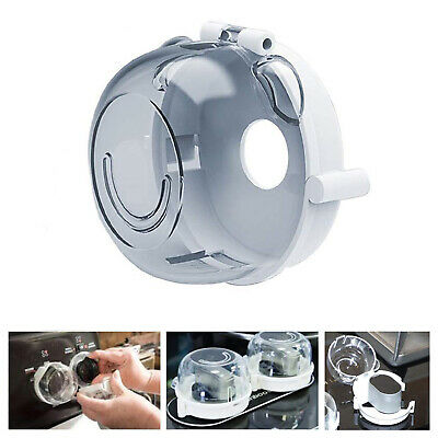 Universal Oven & Stove Knob Covers Clear View Child Baby Kitchen Safety 1Pcs