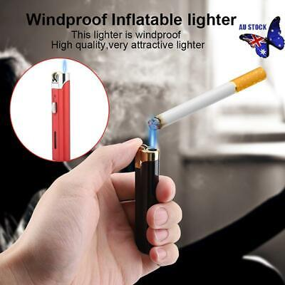 New Jet lighter pencil torch flame refillable butane gas windproof Gift