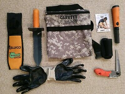 Garrett Pro Pointer AT Z-link with Camo Pouch + EXTRAS