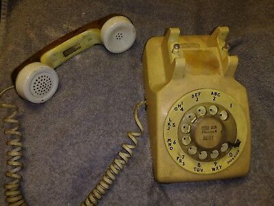 Vintage PROPERTY OF Bell Systems Western Electric Rotary Phone