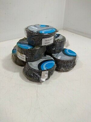 7 Reels of Novipro Black Annealed Wire 1.6mm dia 21m length each