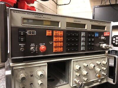Marconi Instruments  2019A 80khz - 1040Mhz Synthesised Signal Generator